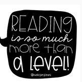 Reading is More Than a Level Poster