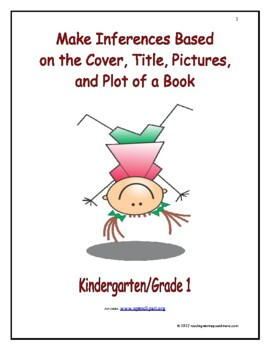 Make Inferences Based on the Cover, Title, Pictures, and Plot of a Book