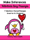 Make Inferences Passages Valentine's Day