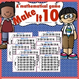 Make It 10 (A Mathematical Number Game)
