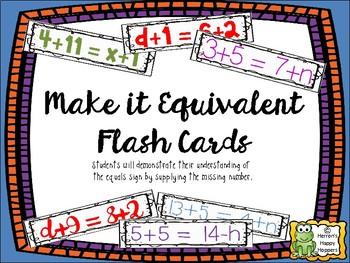 Make It Equivalent Flashcards