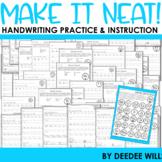 handwriting worksheets teachers pay teachers. Black Bedroom Furniture Sets. Home Design Ideas