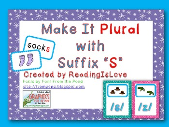 Make It Plural with Suffix S