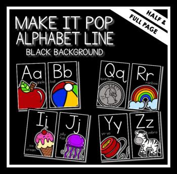 Make It Pop Alphabet Line
