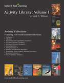 Make It Real: Activity Library Vol. 1 - 110 engaging real-world math activities