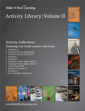 Make It Real: Activity Library Vol 2: 110 real-world math