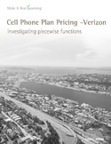 Make It Real: Cell Phone Plan Pricing - Investigating Piec