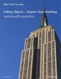 Make It Real: Falling Objects - Empire State Building - Working with Quadratics