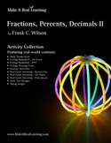 Make It Real: Fractions, Percents, and Decimals 2 - Activity Collection