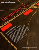 Make It Real: Geometry 1 - Activity Collection