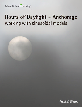 Make It Real: Hours of Daylight - Anchorage - Working with Sinusoidal Models