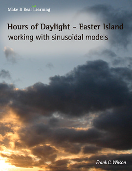 Make It Real: Hours of Daylight - Easter Island - Working with Sinusoidal Models