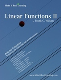 Make It Real: Linear Functions 2 - Activity Collection