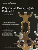 Make It Real: Polynomial, Power, Logistic, Rational 1 - Activity Collection