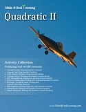 Make It Real: Quadratic 2 - Activity Collection