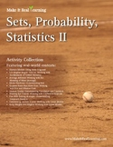 Make It Real: Sets, Probability, and Statistics 2 - Activi