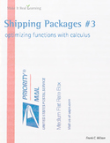 Make It Real: Shipping Packages #3: Optimizing Functions with Calculus