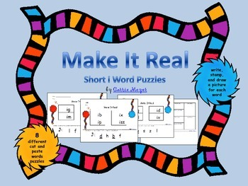 Make It Real: Short i Word Puzzles