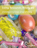 Make It Real: Using Resources Wisely 2 - Investigating Linear Programming