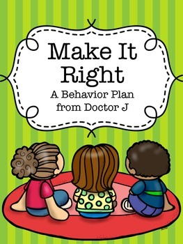 Make It Right: A Responsibility Behavior System/Plan for S