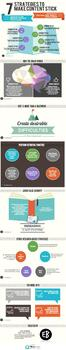 Make It Stick // Learning Strategies // Content Retention Infographic