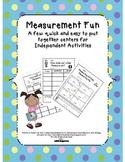 Make Measuring Fun-Measurement Unit with the Common Core