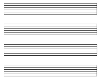 Make Music without Reading: Alternative Notation Products! (via Color & Number)