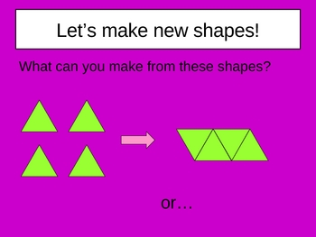 Make New Shapes Power Point Presentation