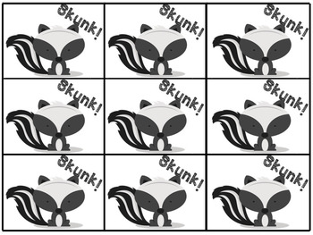 """""""Make New Words"""" Prefix and Suffix Skunked Sorting Game"""