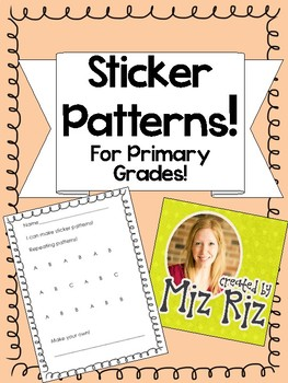 Make Patterns with Stickers