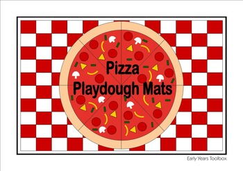 Make Pizza Playdough Mats