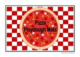Make Pizza Playdough Mats