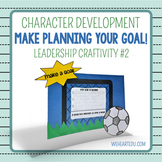 Make Planning Your Goal! {Leadership Craftivity 2}