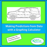 Making Predictions with a Linear Function using the Graphi