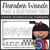 Make & Read: Number Word Play Dough Mats