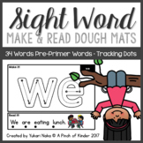 Make & Read: Sight Word Play Dough Mats