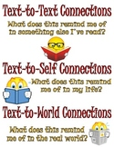 Make Reading Connections Poster (Text, Self, and The World)
