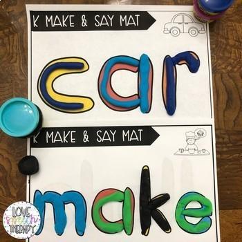Make & Say Dough Speech Mats