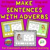 Make Sentences with Adverbs ESL EAL ELL Boom  Interactive