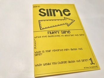 Slime Recipes and Station Activity