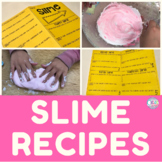 Make Slime: Slime Recipes and Station Activity