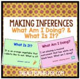 Make Some Inferences! 2 Flashcard Games for What am I doing? & What is it?