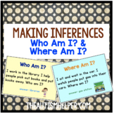 Make Some Inferences! 2 Flashcard Games for Who am I? & Where am I?