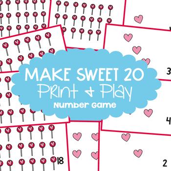 Make 20 Addition Game - Make Sweet 20