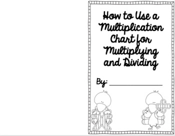 Make & Take How To Books for Multiplying and Dividing on a Mult. Chart