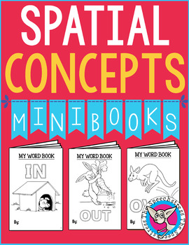 Make & Take Mini Books: Basic Spatial Words