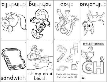 Make & Take Phonics Mini Books: Consonant Digraphs