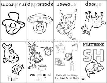 Phonics Mini Books: Consonant Digraphs