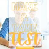 TEST - Make & Take Test and Answer Key