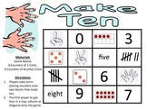 Make Ten - A 2-Player Addition Game to Make Sums of Ten